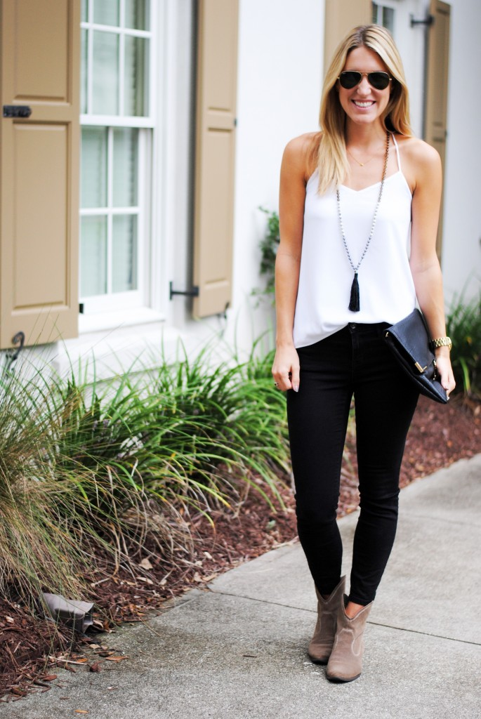 Black and white fall style
