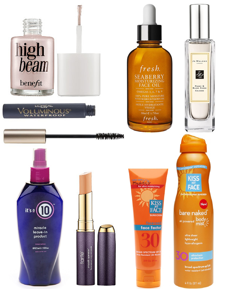 Beach Beauty Favorites