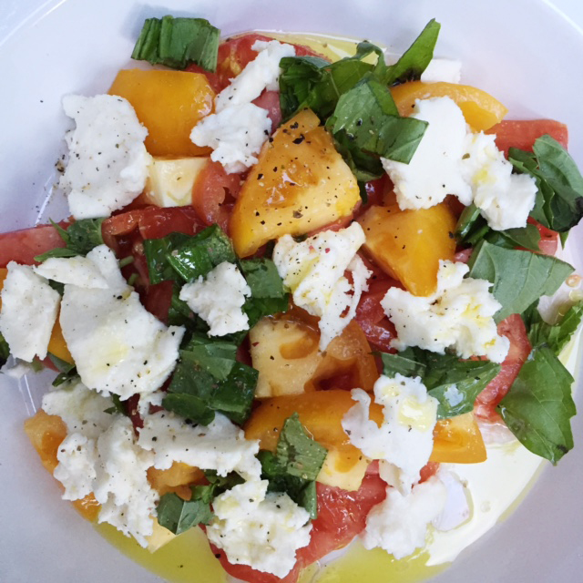 Heirloom Burrata Salad