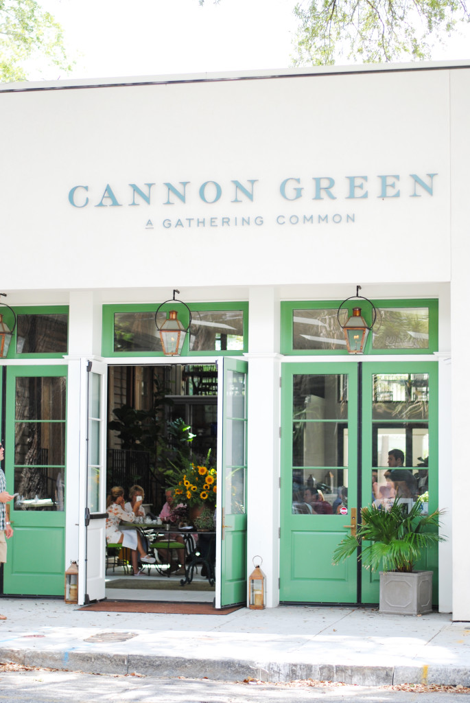 Cannon Green Restaurant Charleston