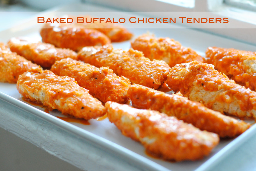 Baked Buffalo Chicken Fingers