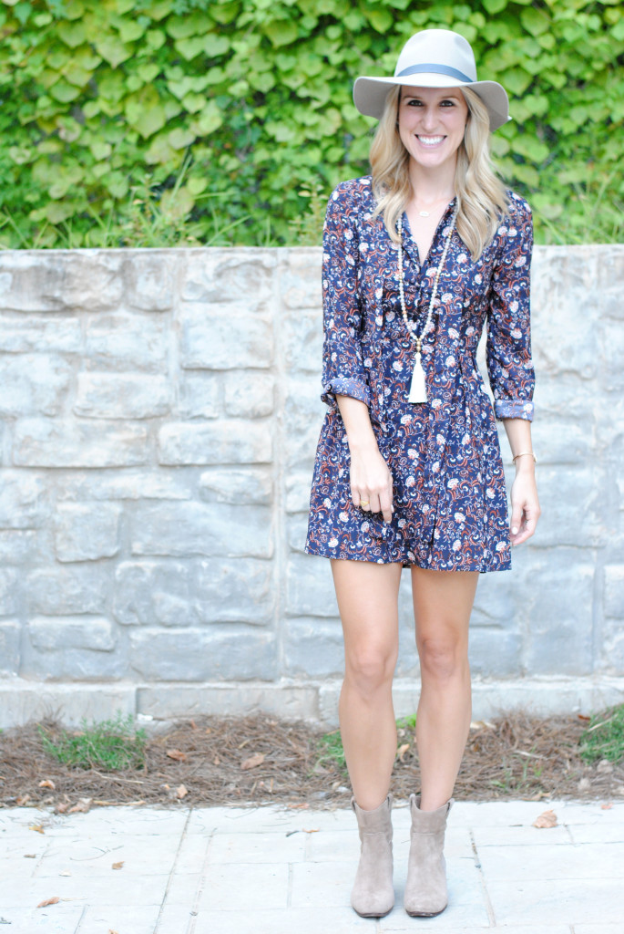 WAYF fall dress