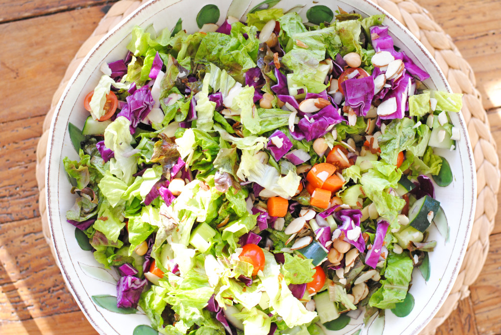 healthy vegetable salad detox