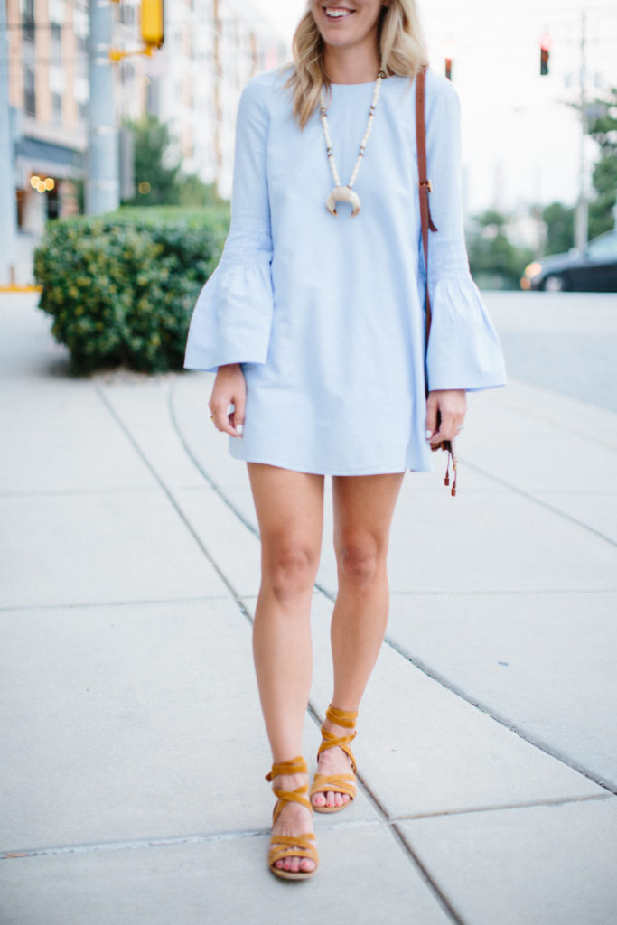 Bell Sleeve Fall Outfit