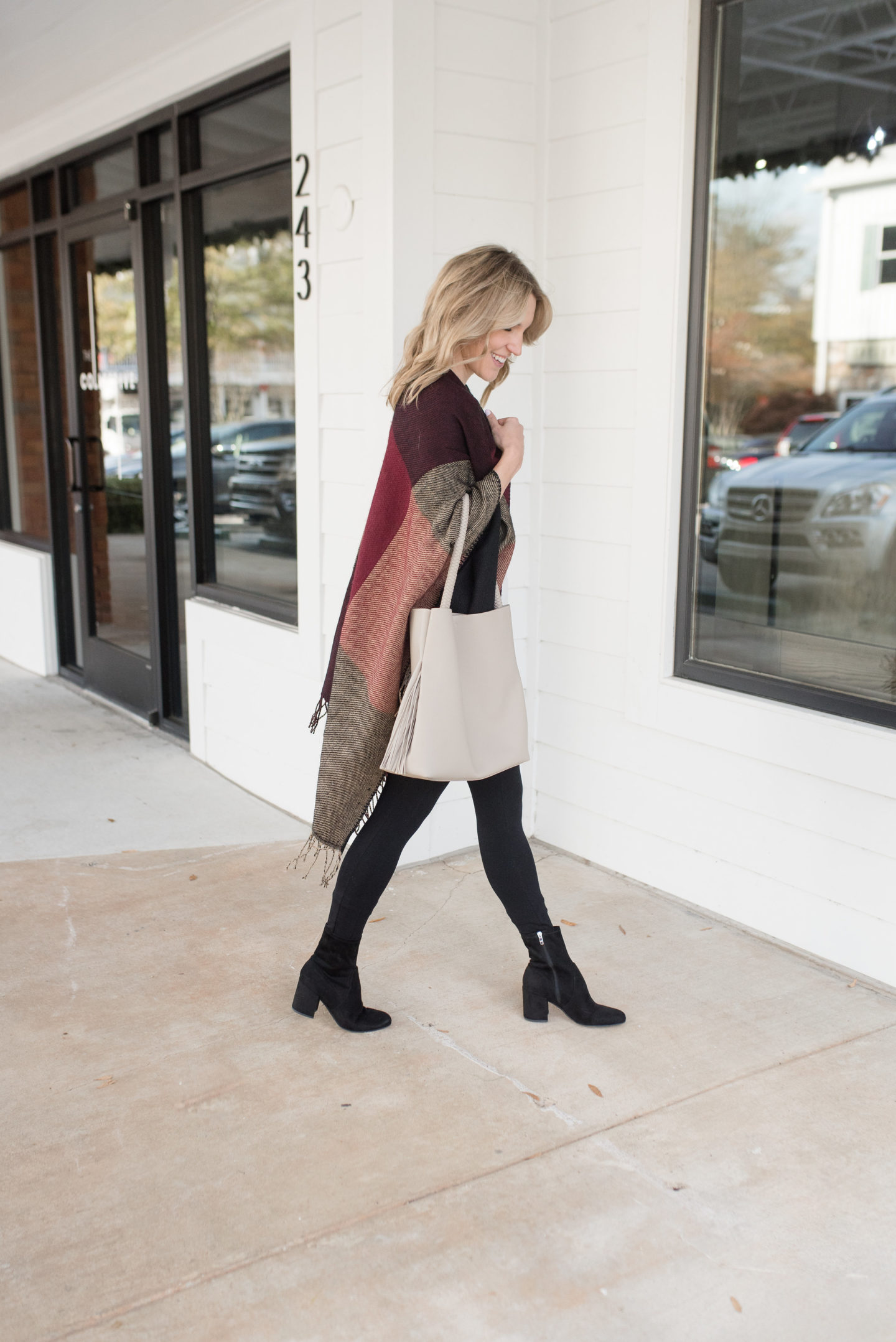 How To Wear A Cape Poncho