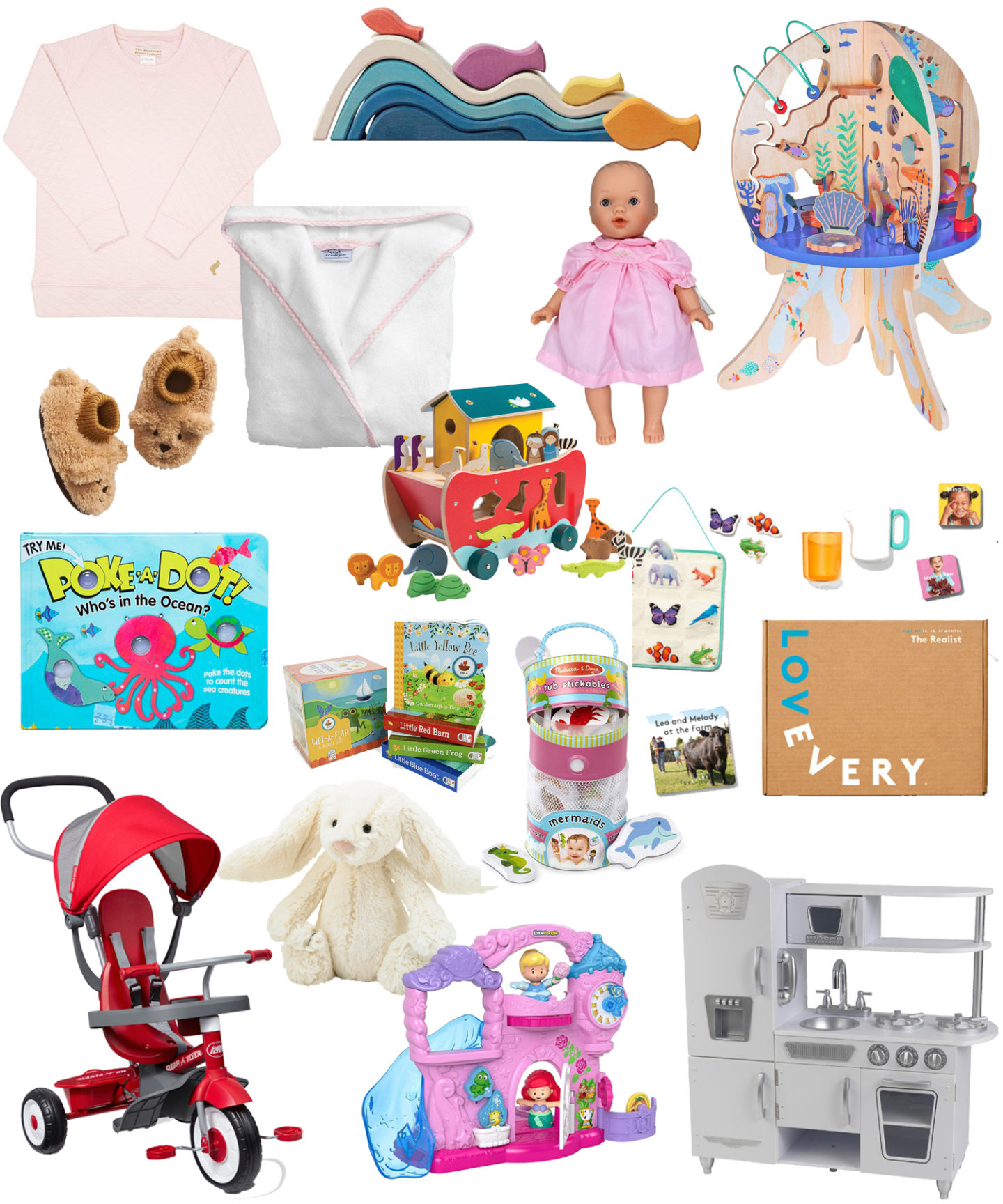 Baby Gift Guide / Turquoise and Teale